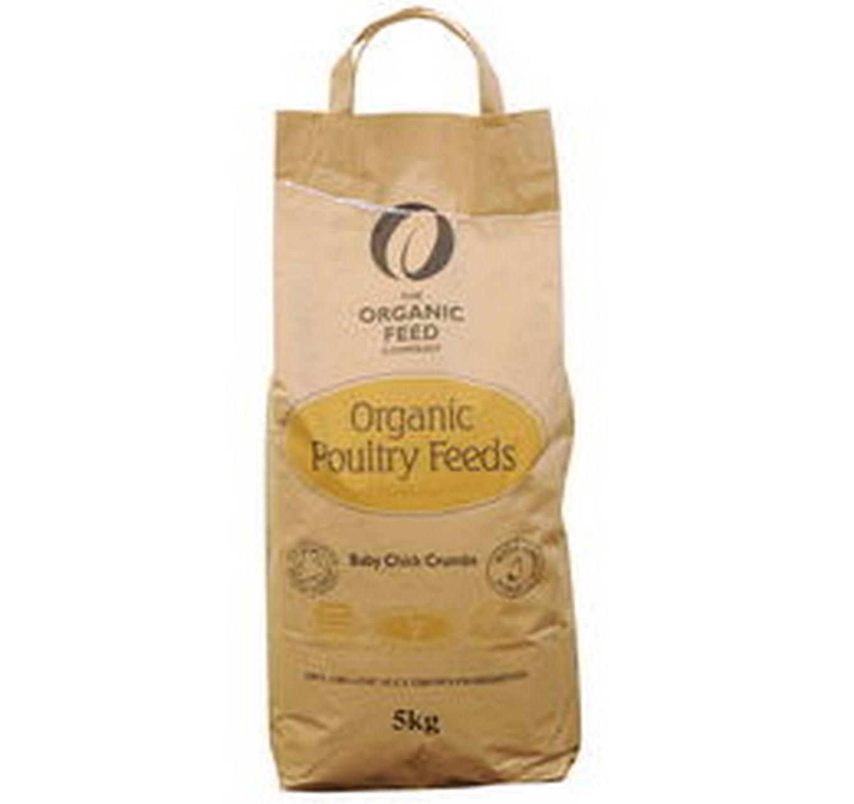 Organic Baby Chick Crumbs 5kg