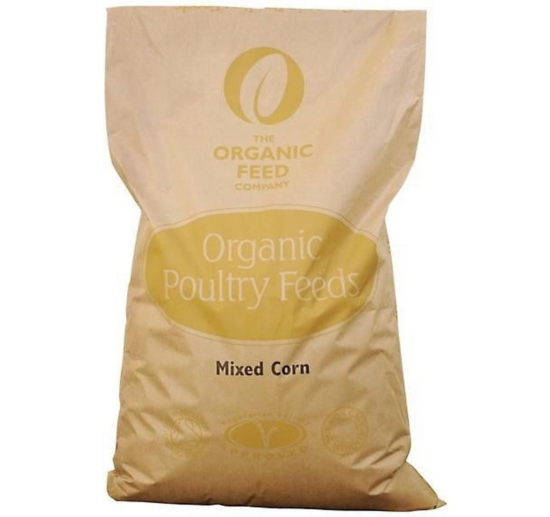 Organic Mixed Corn 20kg