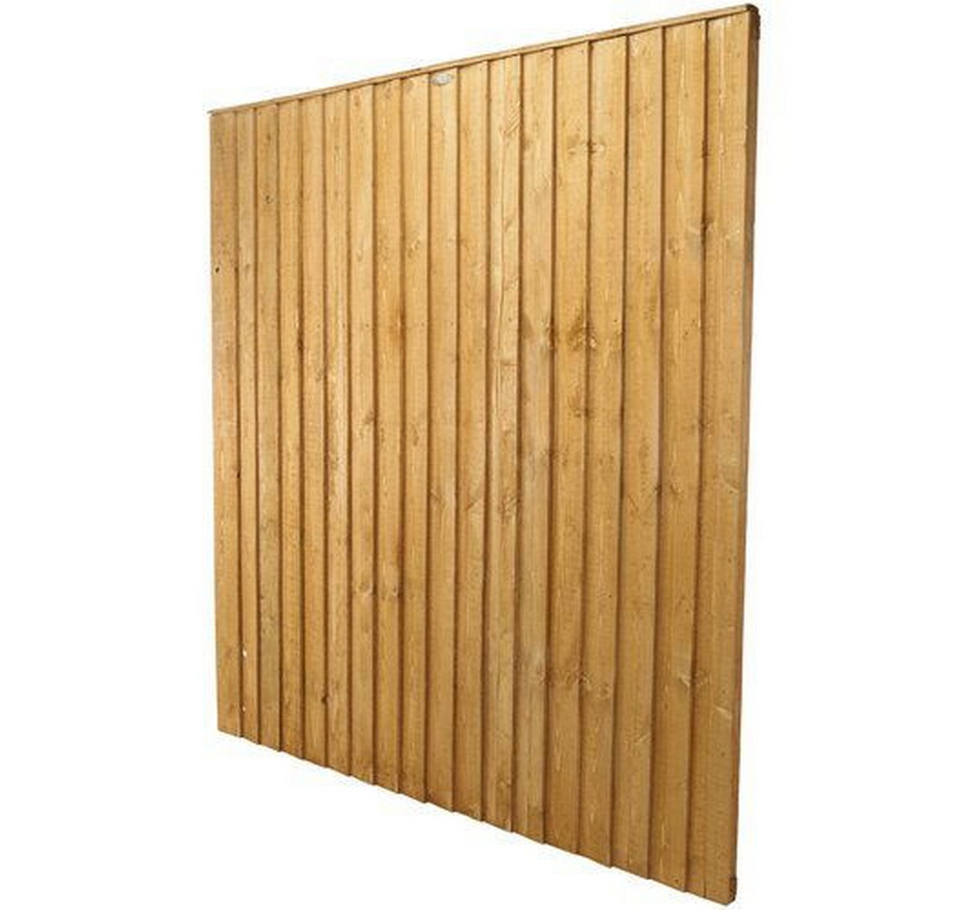 6x5ft Feather Edge Fence Panel