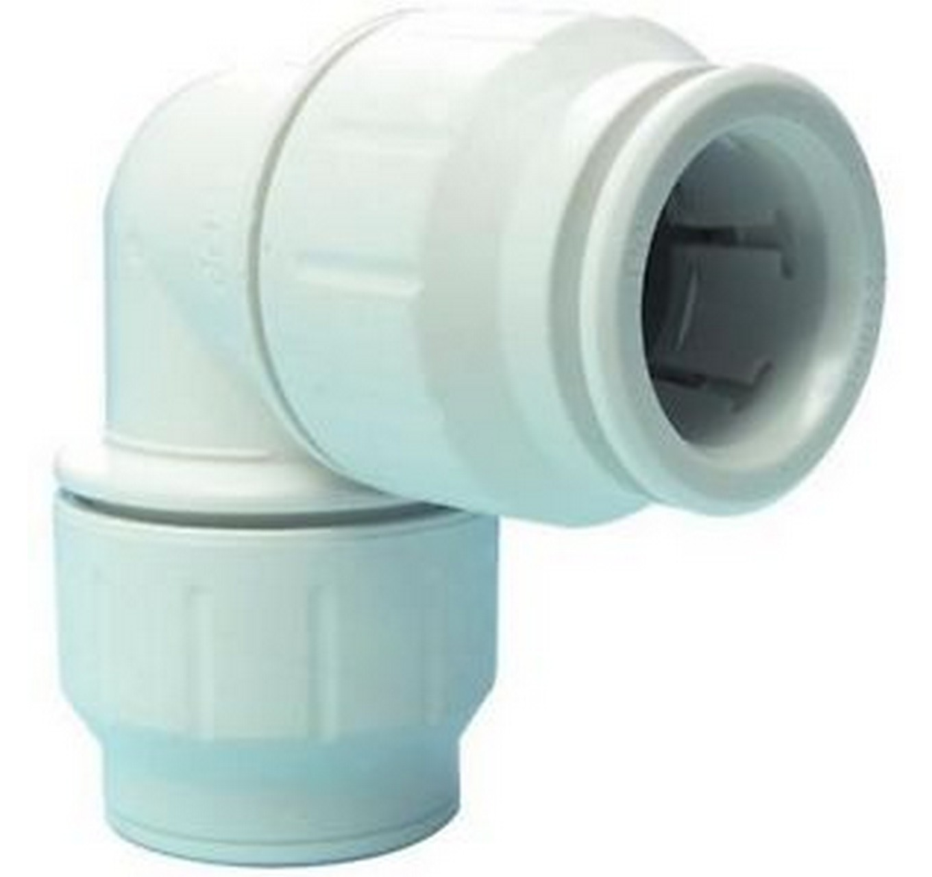 Pushfit White Elbow 15mm