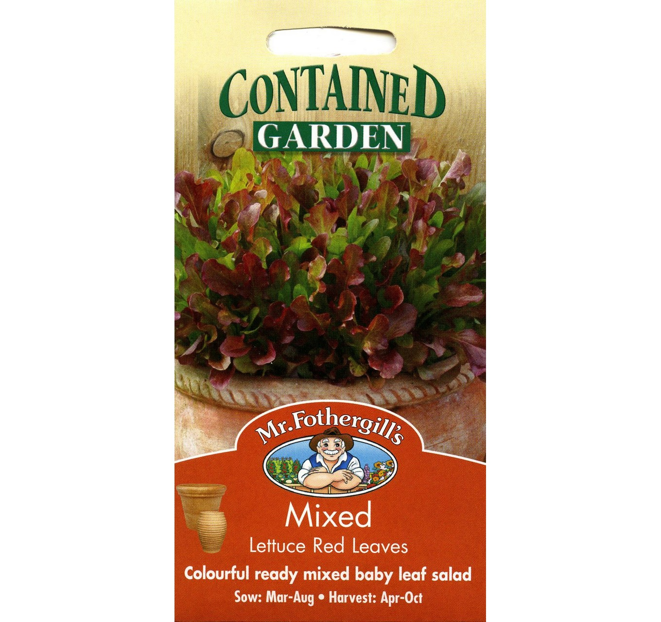 Mixed Lettuce Red Leaves