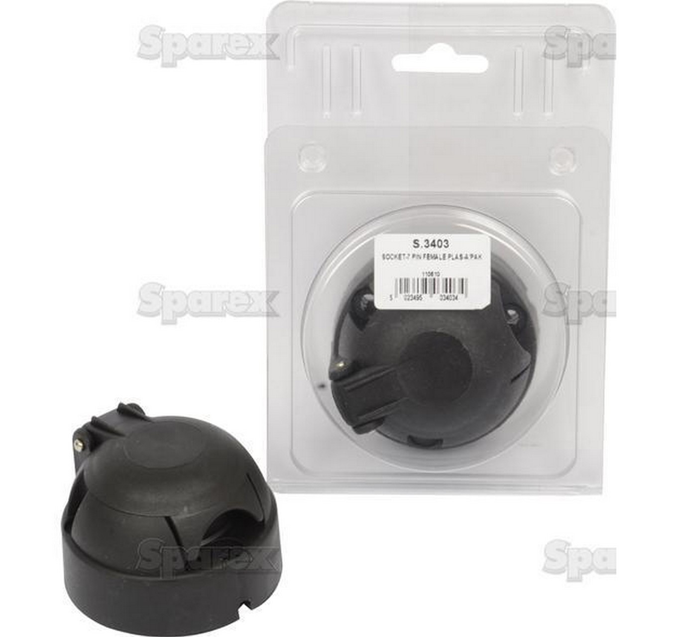 7 Pin Socket Female - Plastic