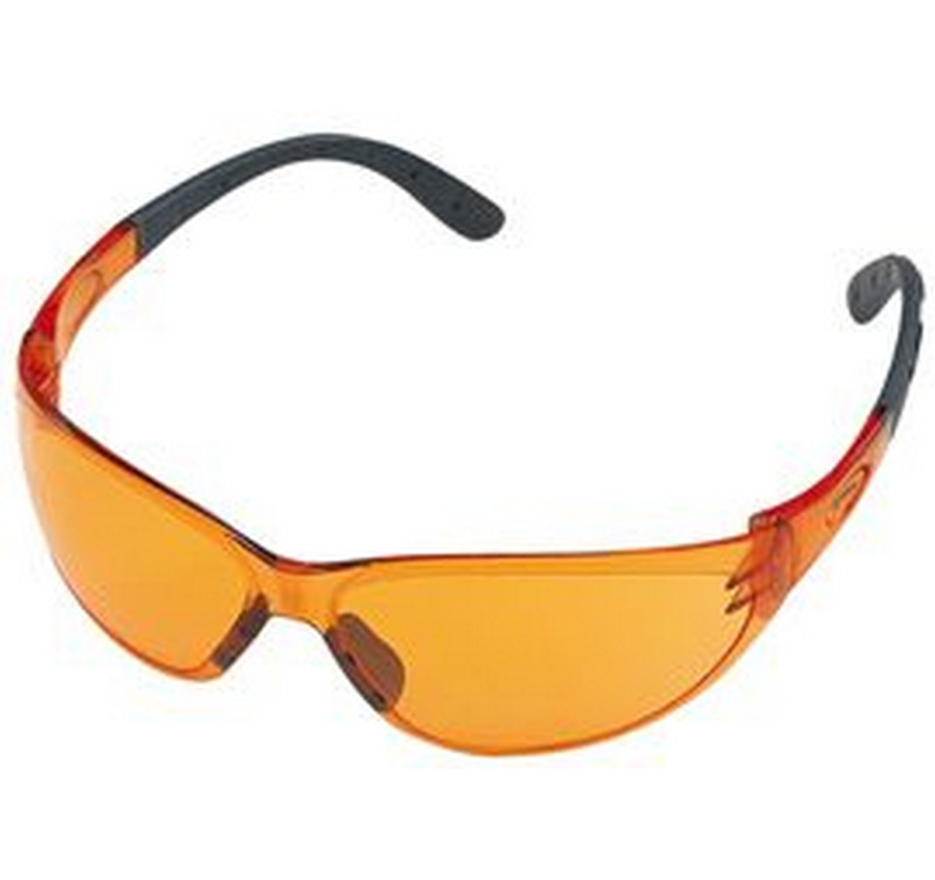 CONTRAST Orange Safety Glasses