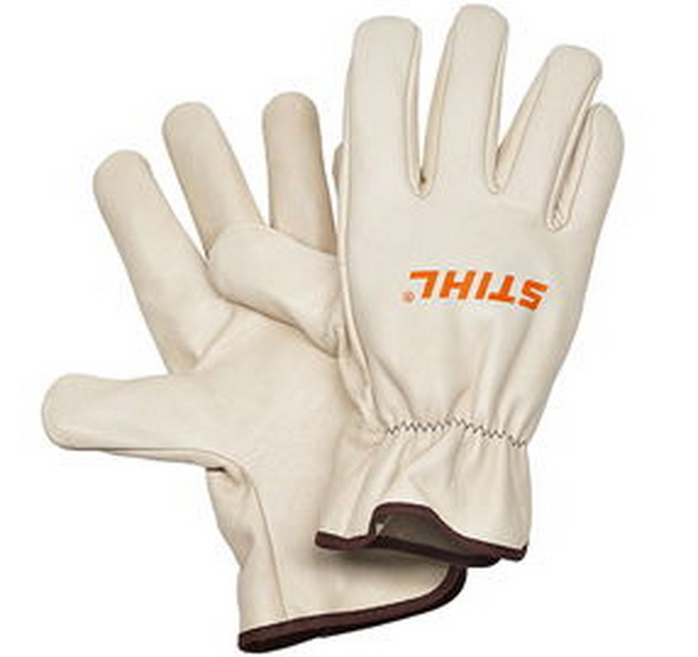 Leather Work Gloves - M