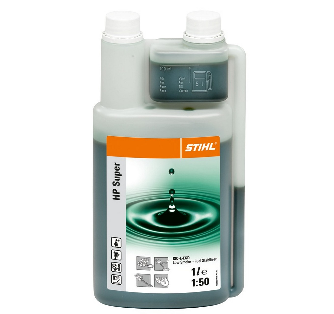 Hp Super 2 Stroke Oil 1L Meter