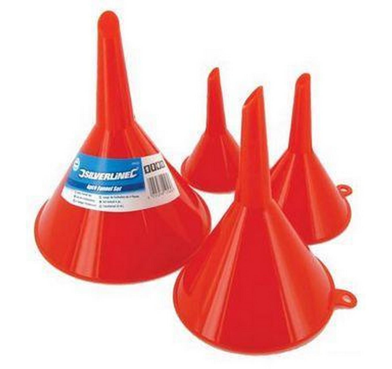 Plastic Funnels Set Of 4