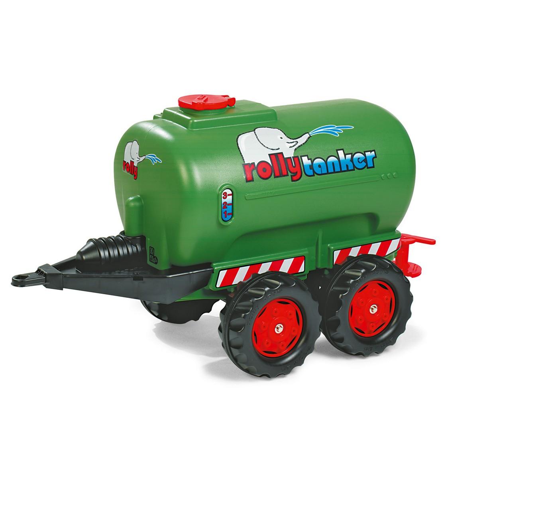 Green Twin Axle Jumbo Tanker