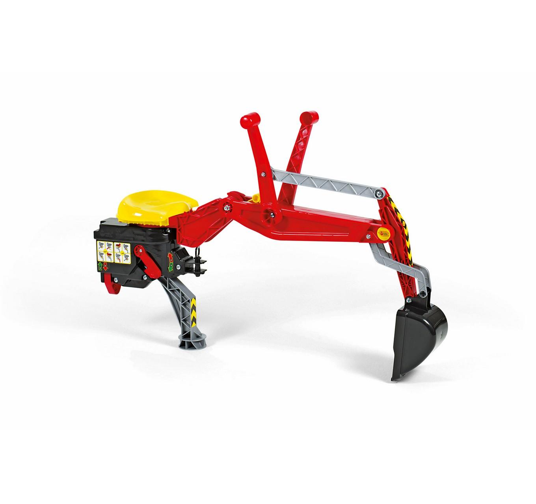 Rear Excavator - Red