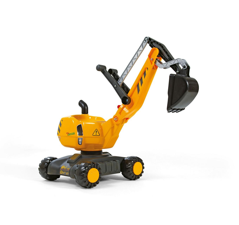 Rolly Excavator - Yellow