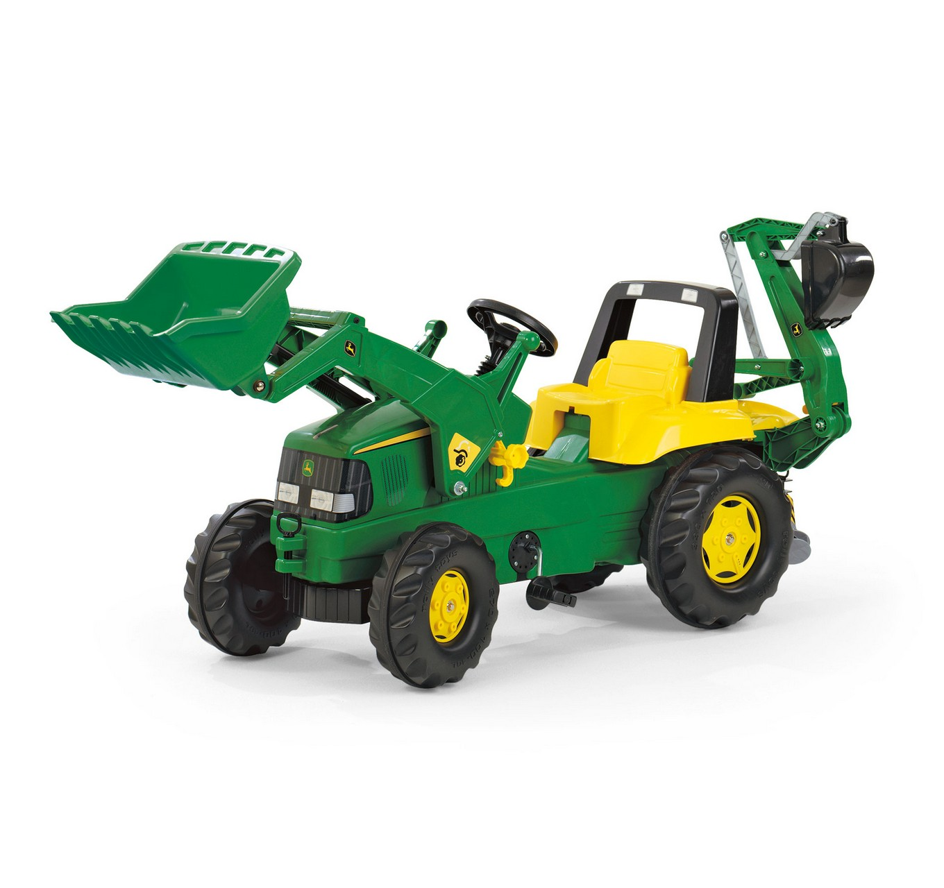 John Deere + Loader & Backhoe