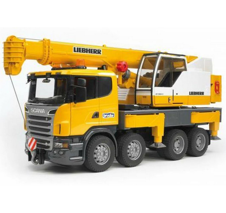 Scania Liebherr Crane Truck
