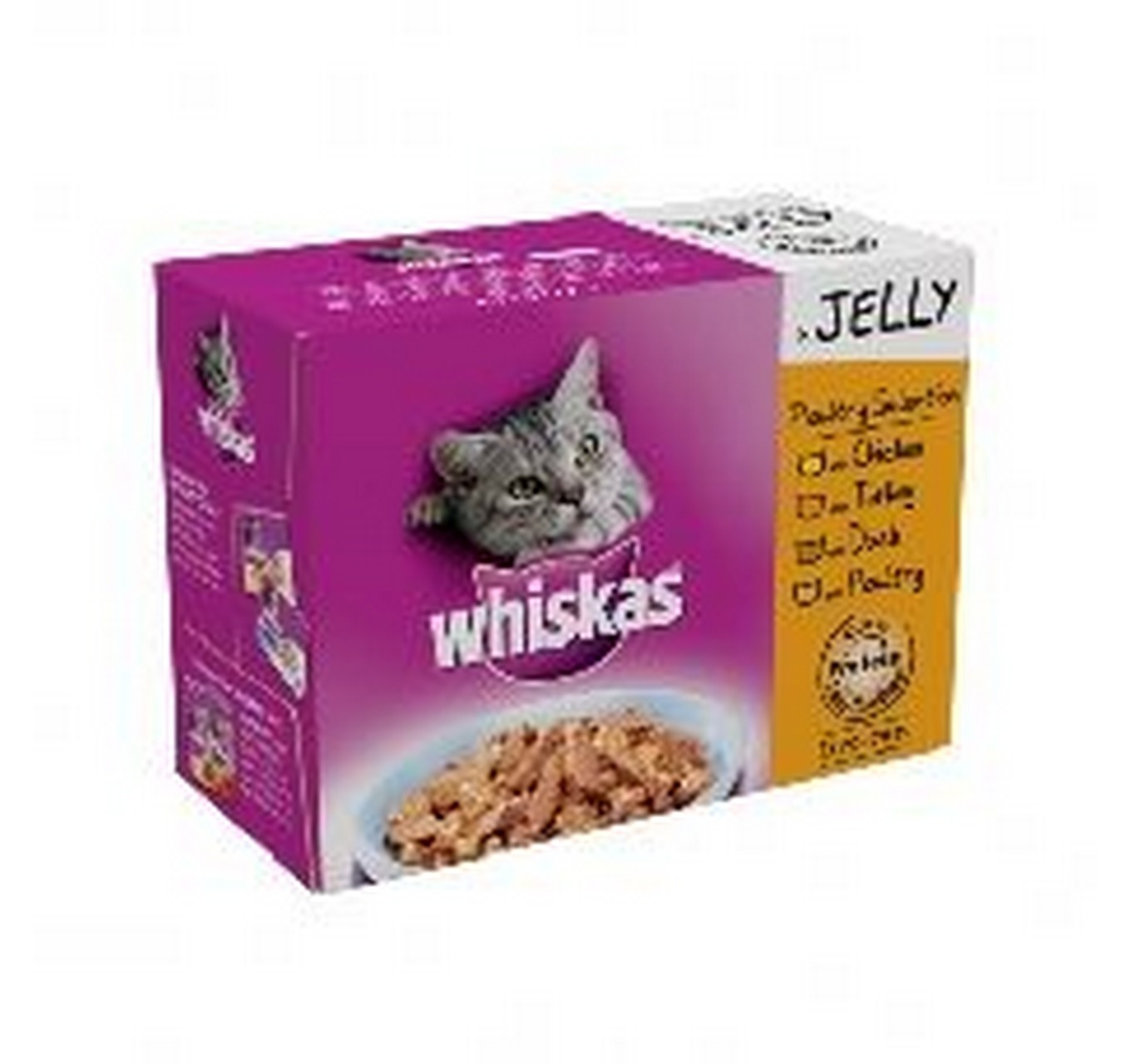 Whiskas Poultry Mix 12x100g
