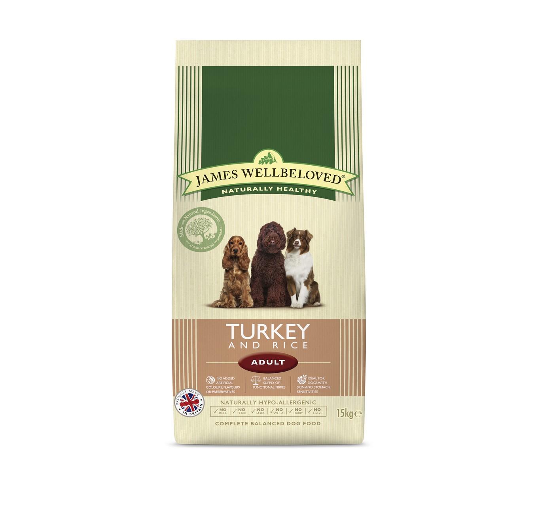 JW Adult Turkey & Rice 15kg