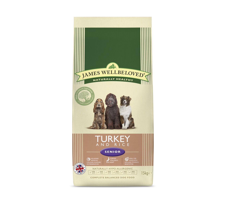 JW Senior Turkey & Rice 15kg