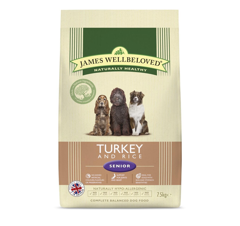 JW Senior Turkey & Rice 7.5kg