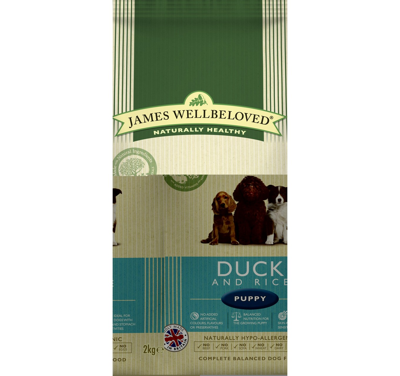 JW Puppy Duck & Rice 2kg