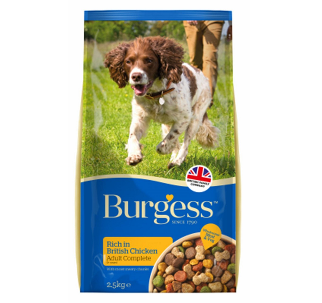 Burgess Adult Dog Chicken 15kg