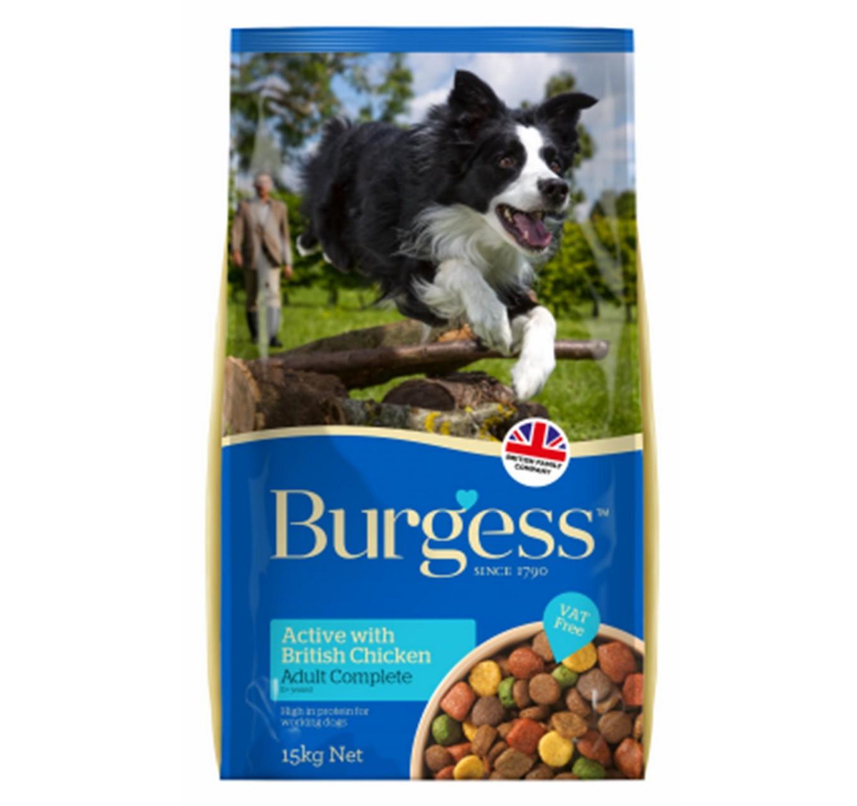 Burgess Active Dog 15kg