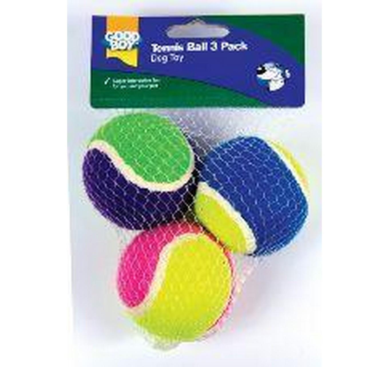 Good Boy Tennis Balls 3pk 65mm