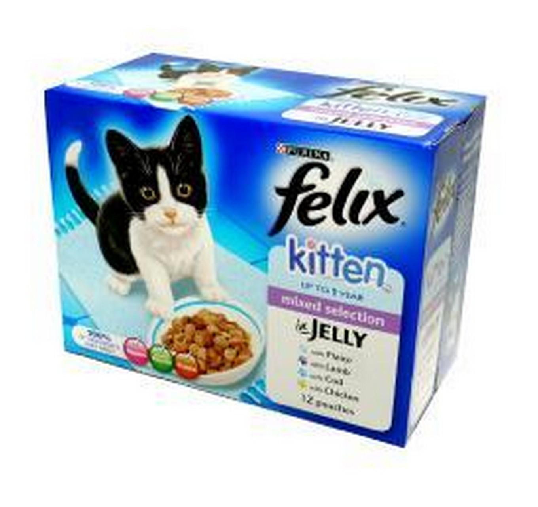 Felix Kitten Mixd Chic 12x100g