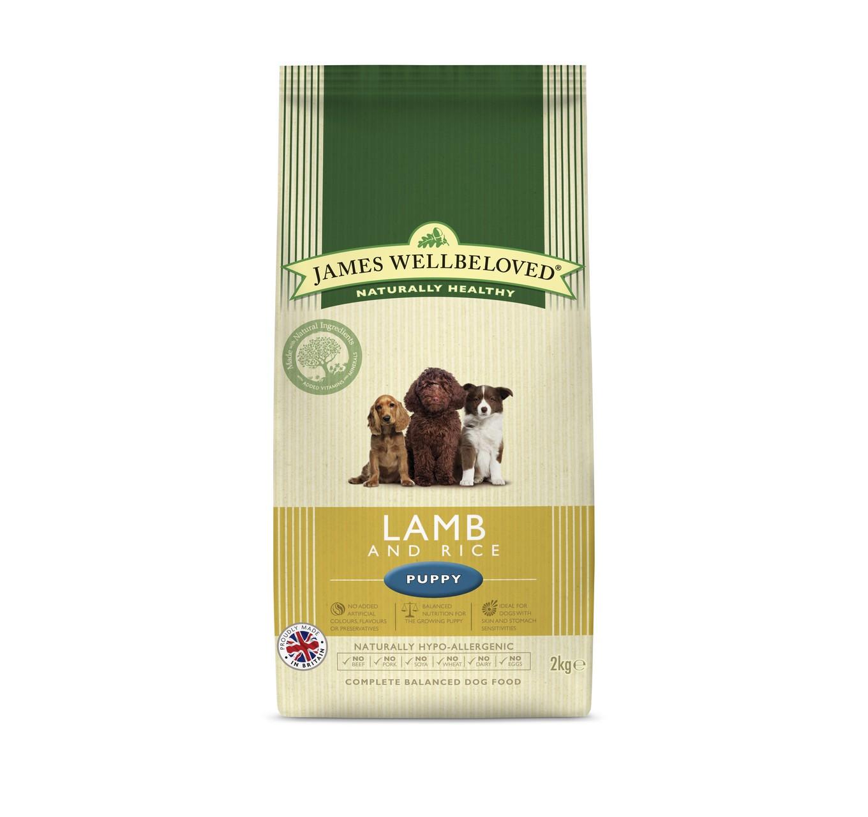 JW Puppy Lamb & Rice 2kg