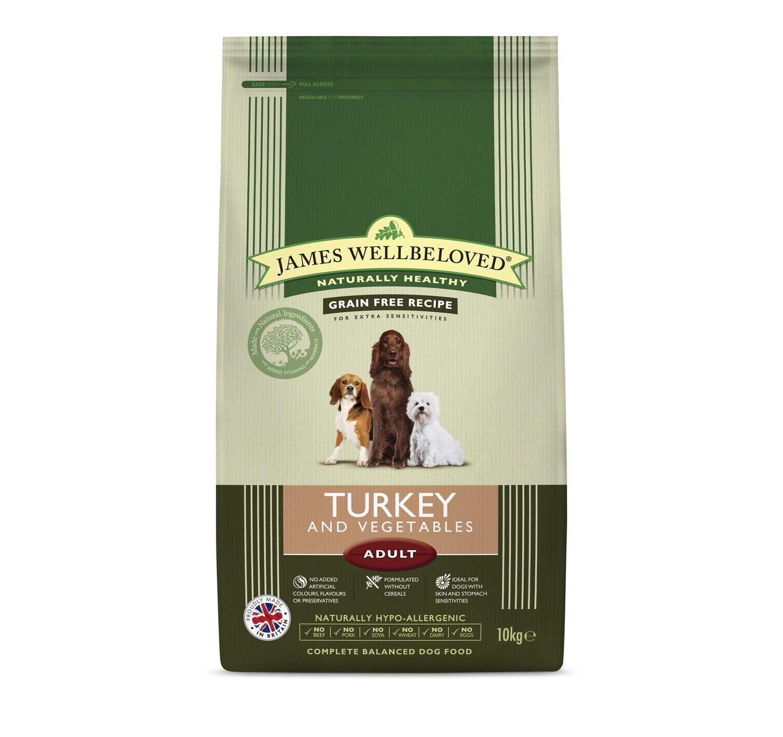 JW Adult G/Free Turkey 10kg