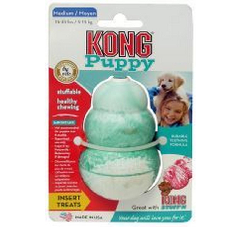 KONG Puppy Treat Toy - Medium