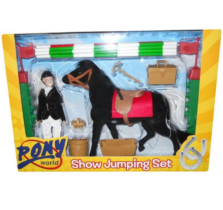 Pony World Show Jumping Set By Pony