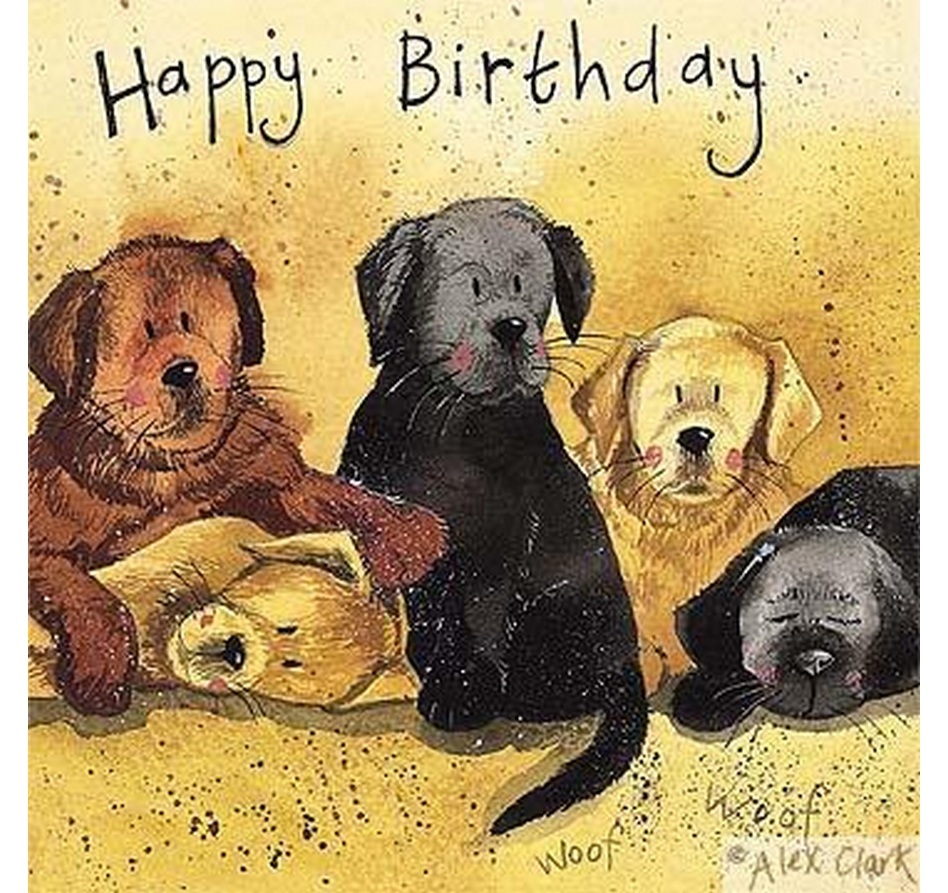 Birthday - Litter of Labs