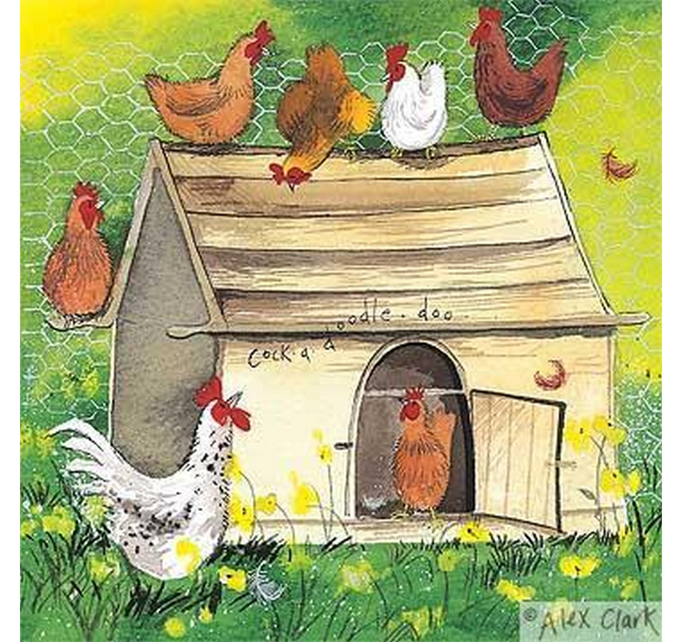 Card Chicken Coop