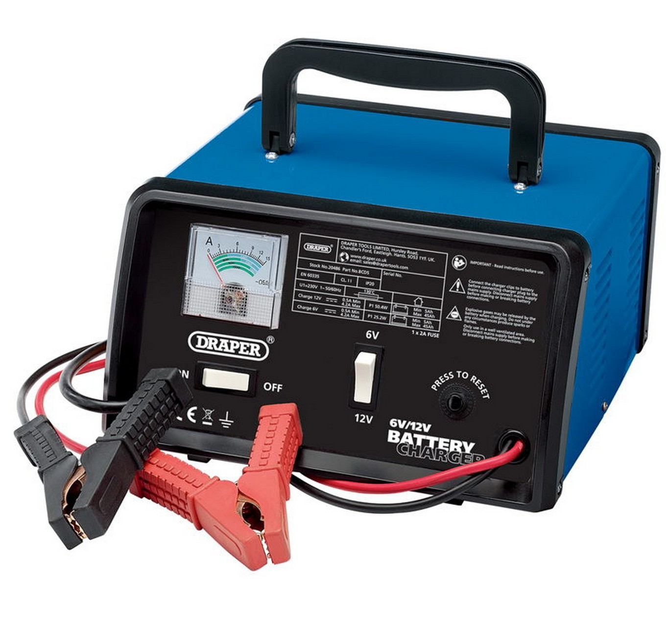 12V 4.2A Battery Charger