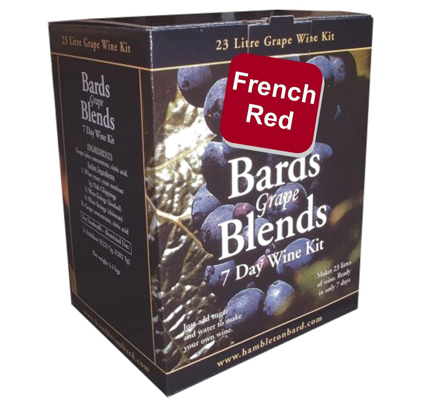 Bard's French Red Wine Kit