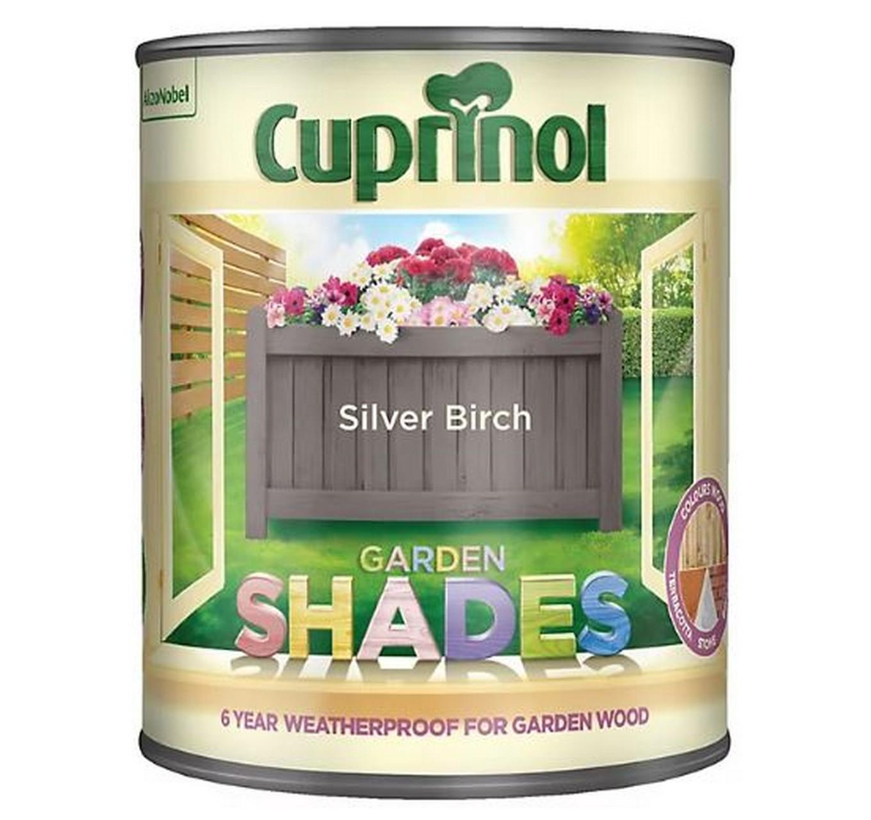 Cuprinol Garden Shades Silver Birch 1l Timbercare