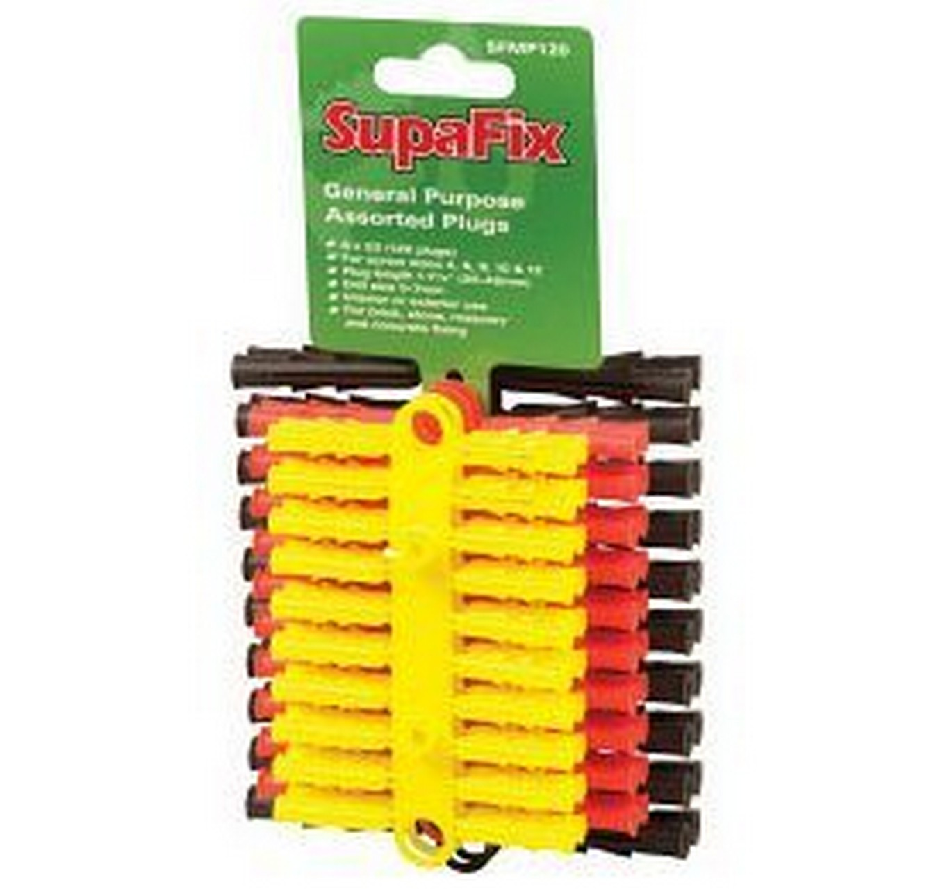 Assorted Wall Plugs - 120 Pack