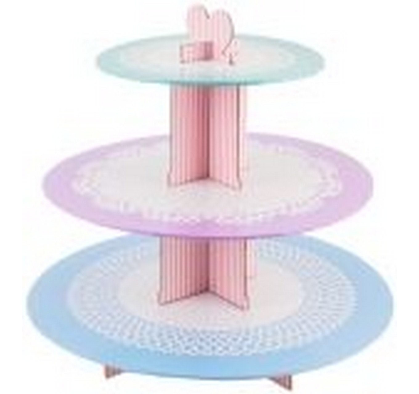 3 Tier Card Cupcake Stand