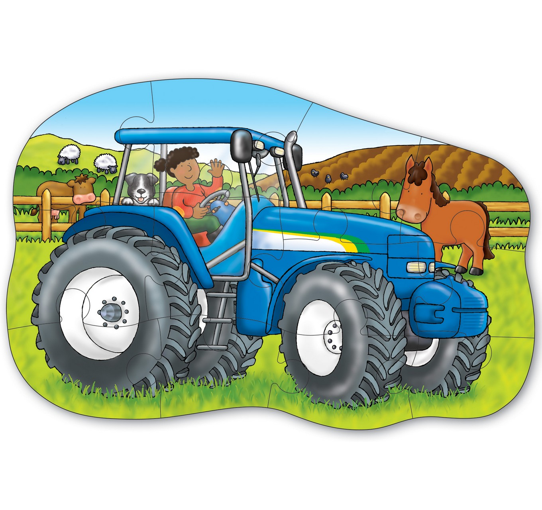 картинки для малышей трактор сделать броширование