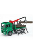 MAN Timber Truck with Crane