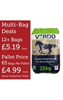 Verdo Horse Bedding 15kg Bag
