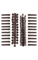 H/D Brown Wall Plugs 50pk