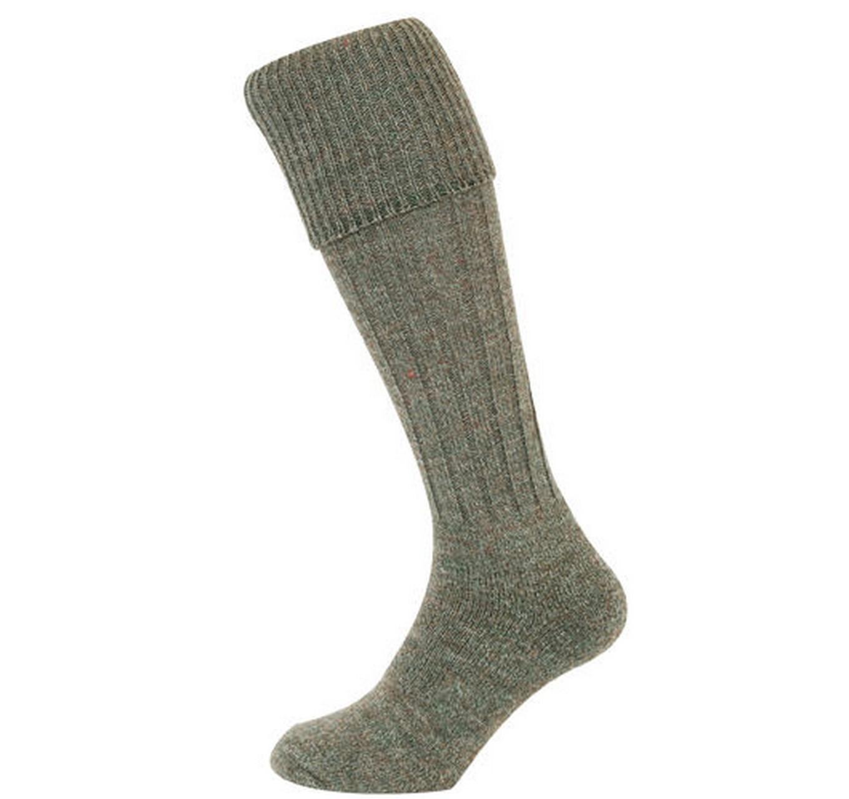 Rib Knit Sock Lovat 9-11