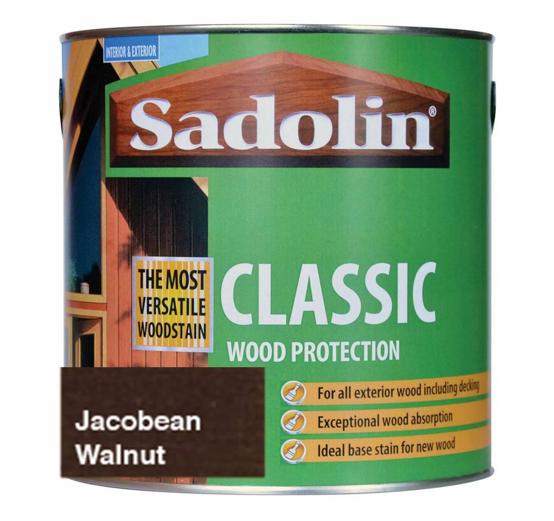 Sadolin Jacobean Walnut 1L