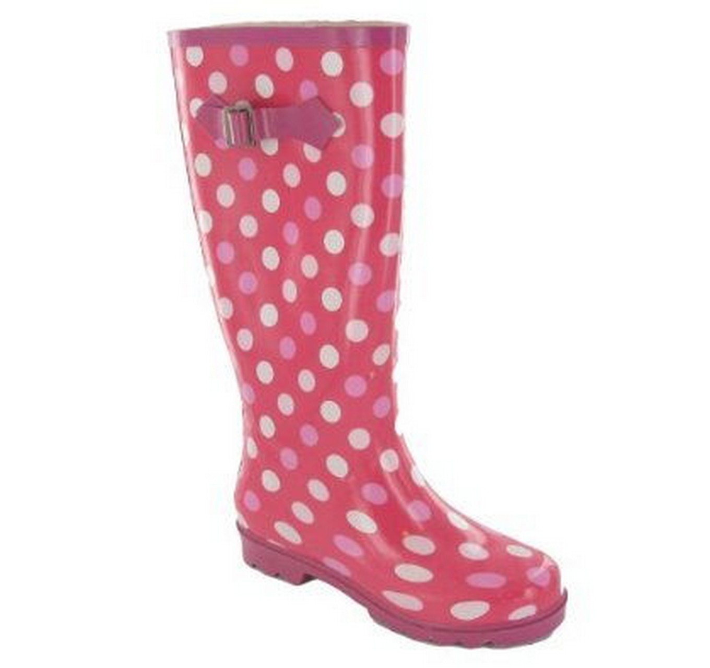 Pink Spots Wellies 3