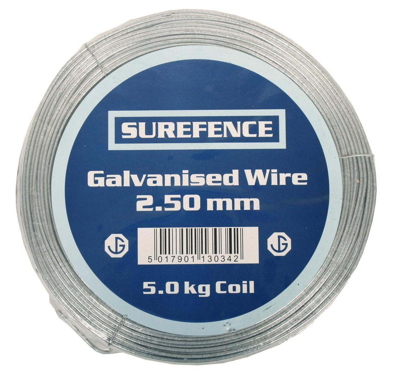 Mild Steel Wire 2.50mm 5kg 130