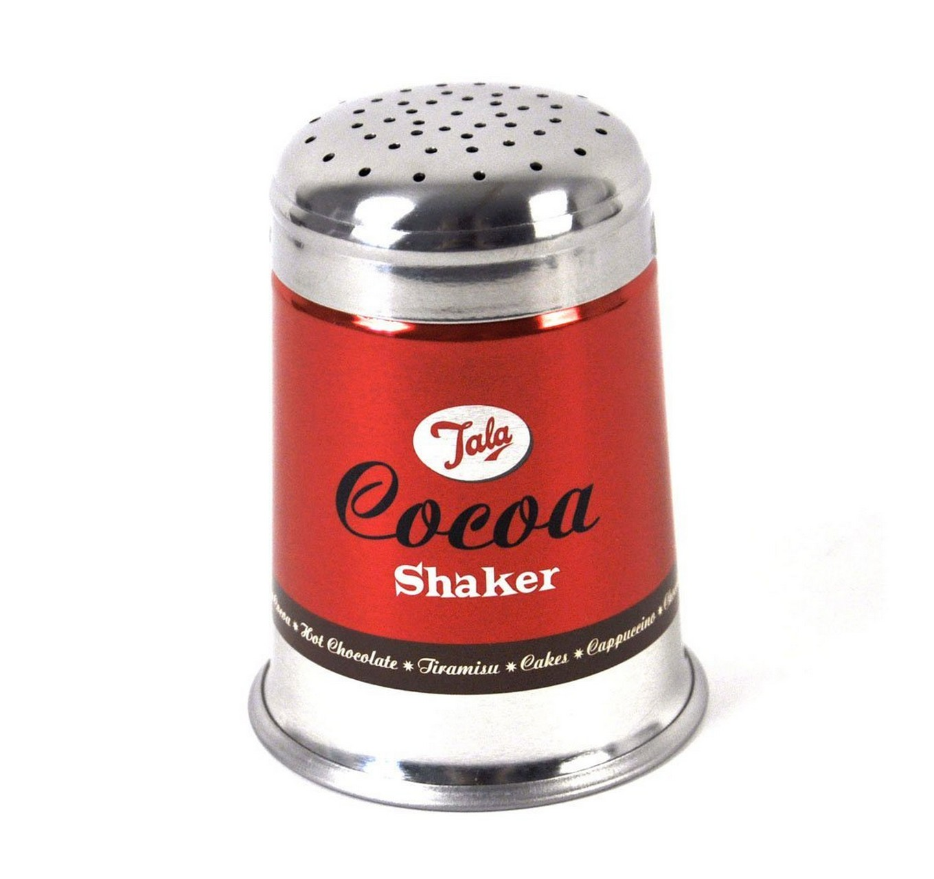 1960's Cocoa Shaker Red