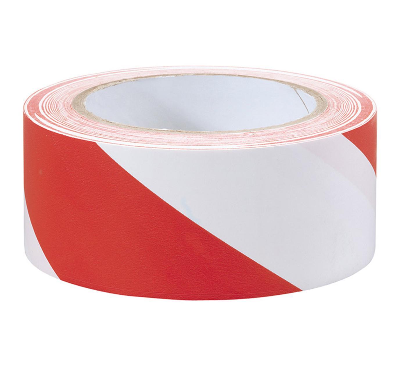 Hazard Tape - Red & White