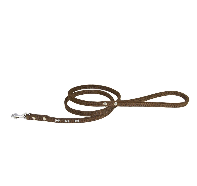 Brown Tiger Bone Lead 12mm (s)