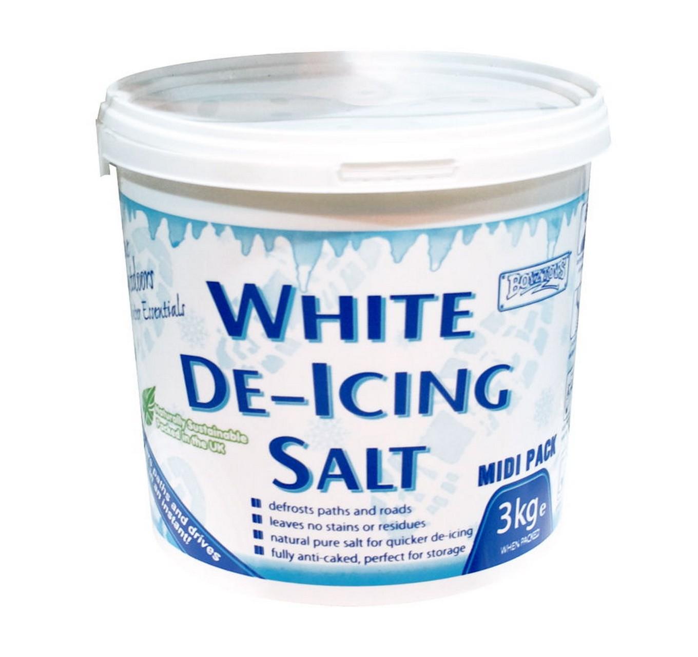 White De-icing Salt 3kg