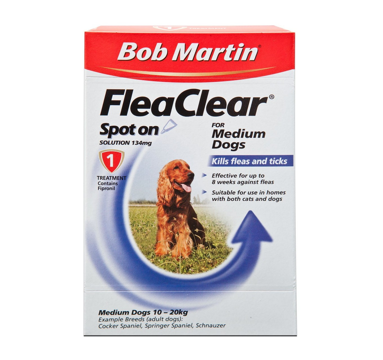 FleaClear Spot-On Medium Dog