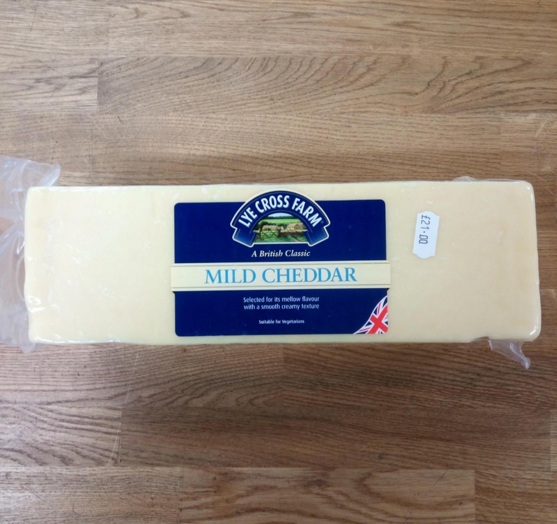 Mild Cheddar Approx 2.5kg