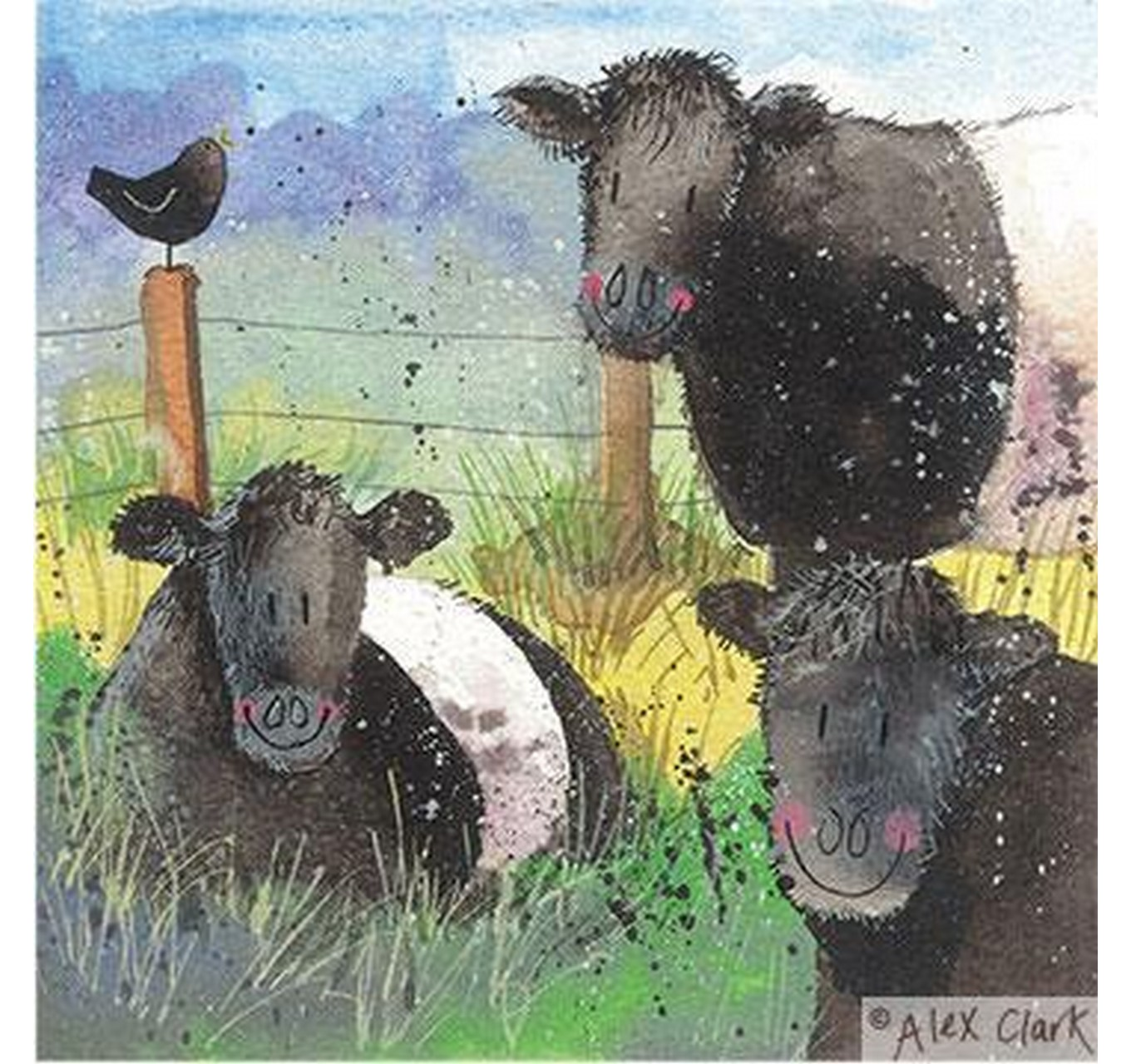 Card Bunch Of Belties